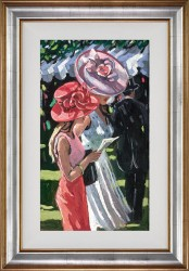 Ascot Ladies - Framed