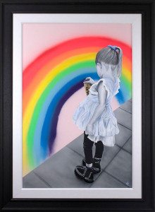 A Rainbow For Heroes  - Framed