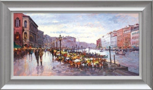 Afternoon In Venice  - Framed