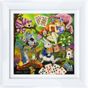 Alice - Framed - Canvas With Slip