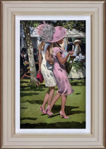 Ascot Chic I  - Framed