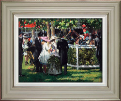 Ascot Race Day I - Framed