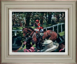 Ascot Race Day II - Framed