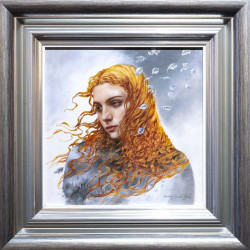 Astral Storylines - Boutique Edition - Silver-Blue Framed