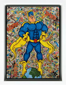 Banana Man - Original  - Framed