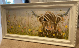 Bee-utiful Summer - Original - Framed