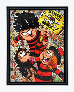 Beware Of The Minx - Original  - Framed
