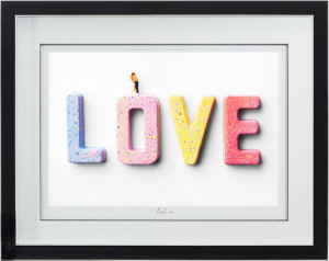 big love   - framed