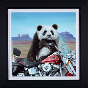 Born To Be Wild  - Framed
