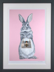 Bunny Girl - Gucci - Framed