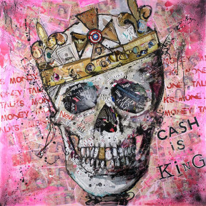 Cash Is King - Artist Proof - Mounted