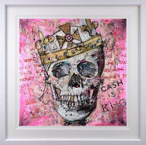 Cash Is King - Artist Proof - Framed