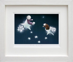 Catch A Falling Star - Picture - White Framed
