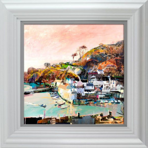 catch of the day, polperro  - framed