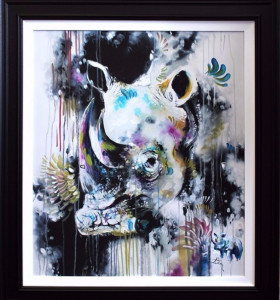 Charge - Canvas  - Framed