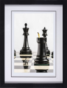 check mate  - framed