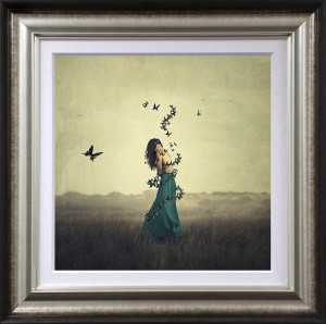 Circle Of Wings - Artist Proof - Bronze - Framed