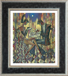 City Lights (Small) - Framed