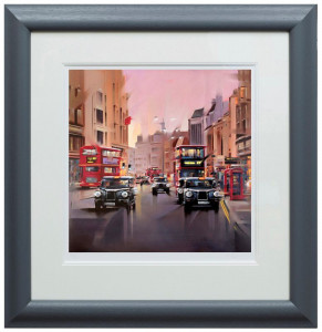 City Streets  - Framed