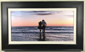 closing scene - canvas  - framed