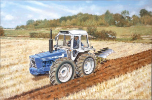 County 1174 Ploughing - Artist Proof - Mounted