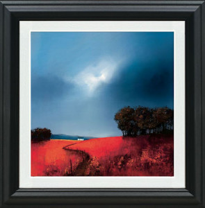 Crimson Fields Of Home  - Framed