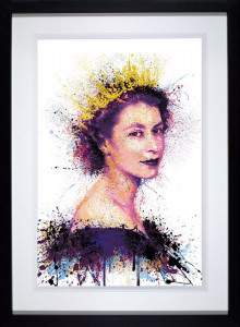 Crowning Glory - Black - Framed