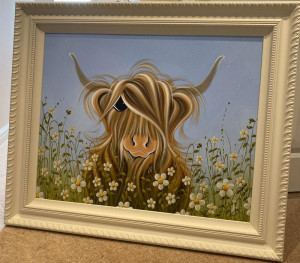 Daisy Love II - Original - Framed
