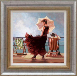 Dancing On The Deck - Framed