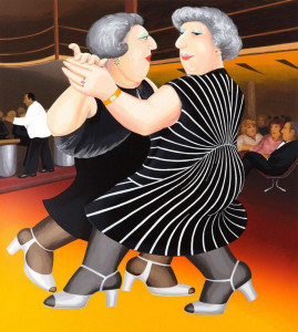 Dancing On The QE2 - Print