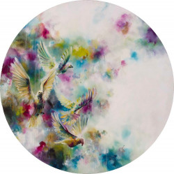 Dawn (Doves) (Small) - Mounted