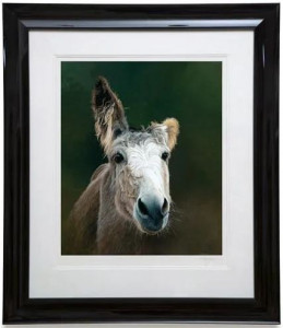 Des - Donkey - Black - Framed