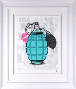 Designer Grenades - Tiffany And Co. Perfume  - Framed