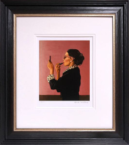 Diva - Artist Proof Black - Framed