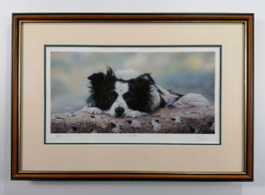 Dogs Day - Brown - Framed