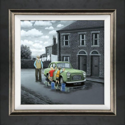 Don't Forget Them Wheels - Canvas - Framed