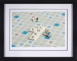 Double Word Score - Framed