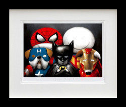 Dream Team! - Framed In Black