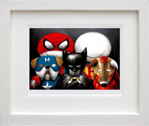 Dream Team! -  In White - Framed