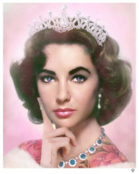Elizabeth Taylor - Colour - Original
