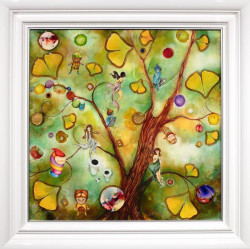 Enchanted Forest - White Framed