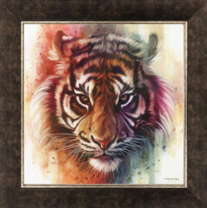 Eye of The Tiger - Canvas - Framed
