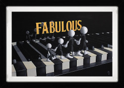 Fabulous - 3D High Gloss - Framed