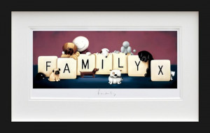 Family - Black - Framed