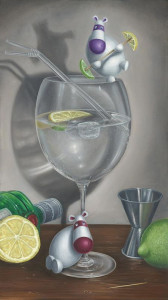 Feeling Gintastic - Canvas With Slip