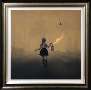 finding her way home - deluxe special edition - framed
