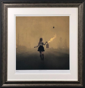 finding her way home  - framed