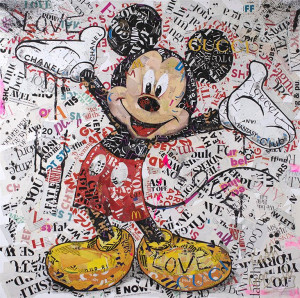 First Love - Mickey - Mounted