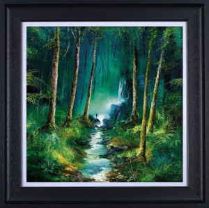 Forest Of Light  - Framed