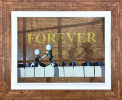Forever - 3D Resined - Framed